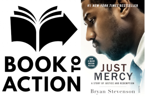 Book to Action Selection Just Mercy by Bryan Stevenson